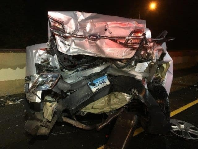 State Trooper Seriously Injured In I-95 Accident In Fairfield
