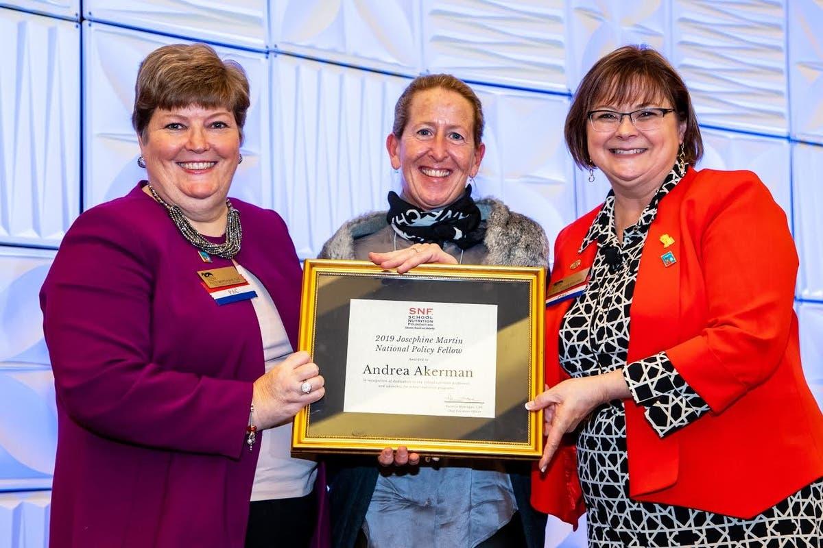 Rockford Schools Nutrition Manager Receives Award in D C