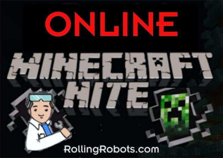 Minecraft Nite in Halloween World