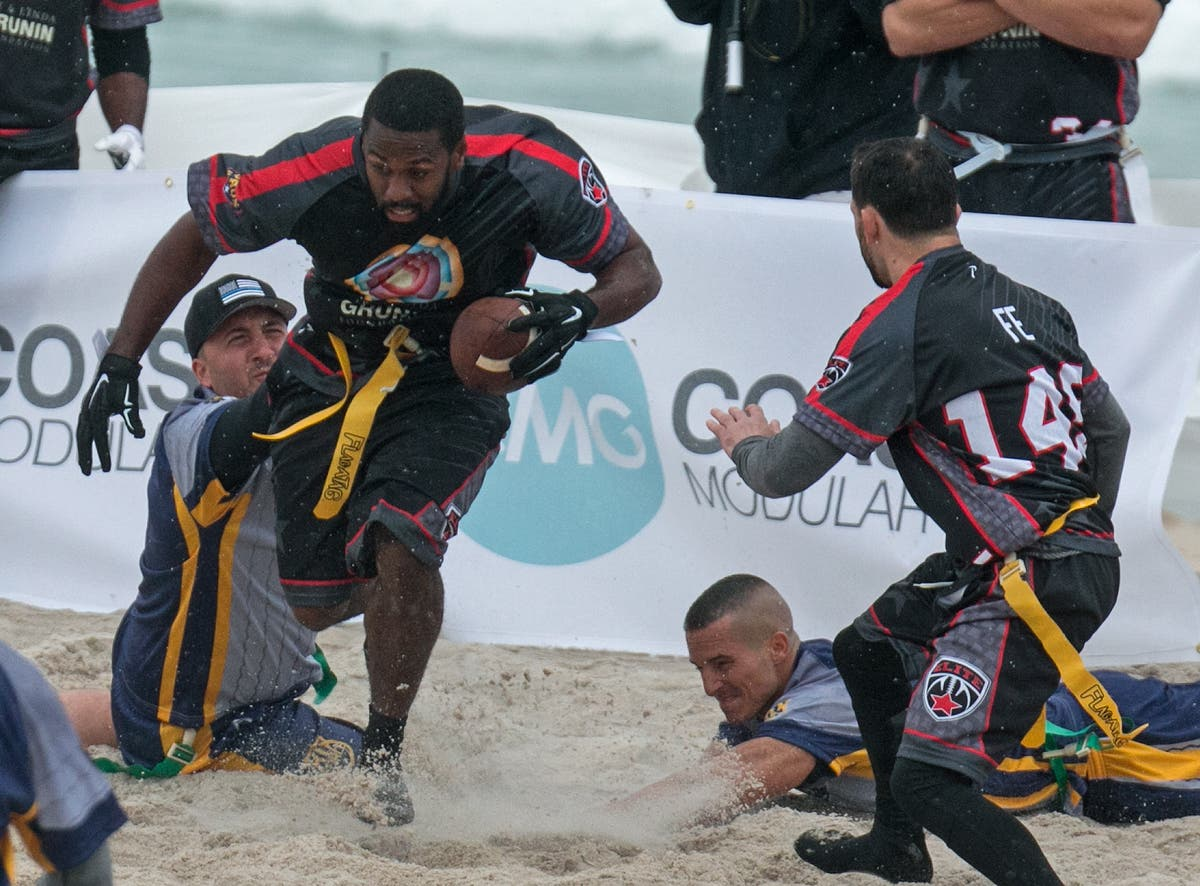 Body Art Beach Football