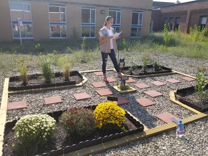 Manchester Student Creates Sensory Garden At High School ...