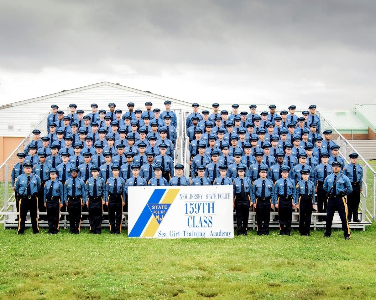 117 New Jersey State Troopers Graduate In Toms River Ceremony | Toms