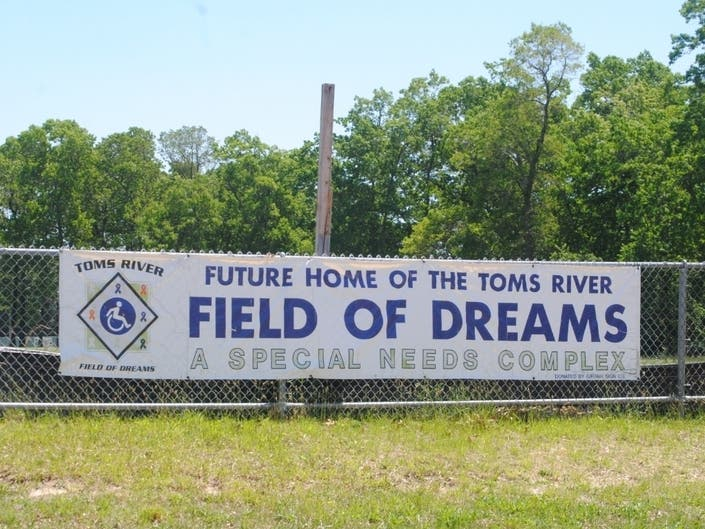 Toms River Field Of Dreams Holding Wine & Dine Fundraiser