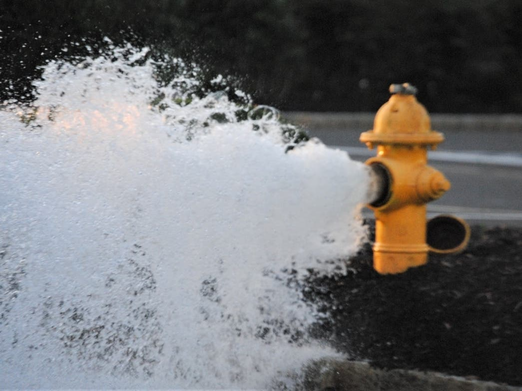 Hydrant Flushing Beginning In South Toms River Toms