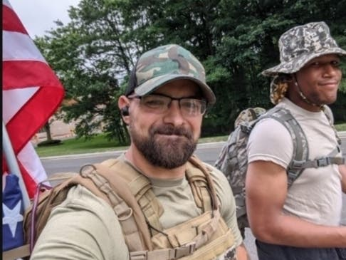Brick Man's Route 70 4th Of July March Honors A Grandfather, Vets