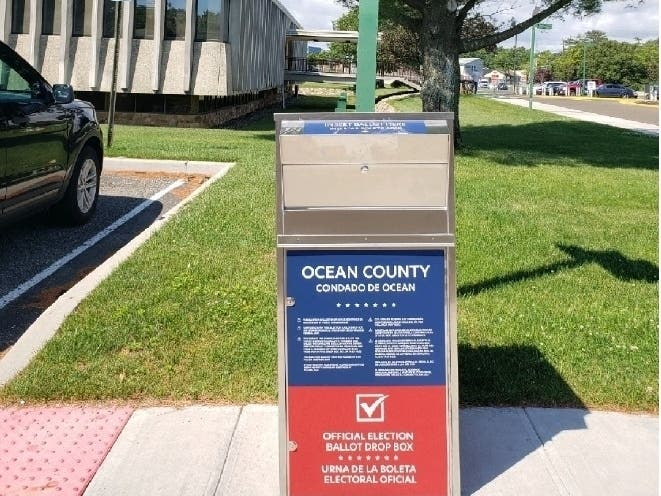 Looking For A Mail In Ballot Drop Box Here S Ocean County Sites Toms River Nj Patch