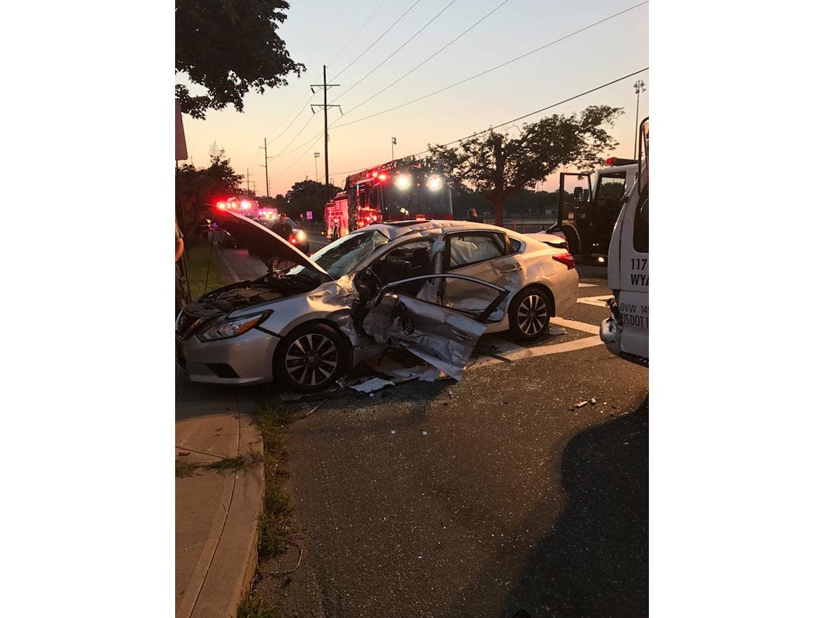 Box Truck Strikes Car In Greenlawn | Huntington, NY Patch