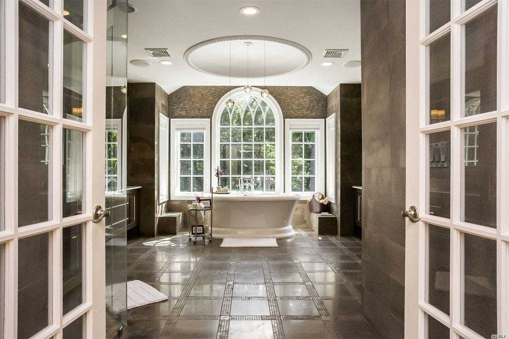 Long island homes with majestic master bathrooms mineola ny patch