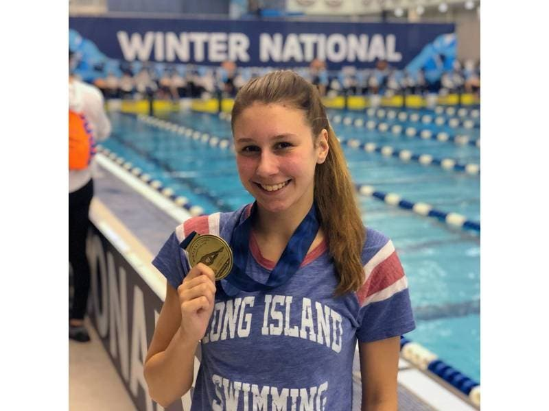 Northport Swimmer Wins Gold At National Championships