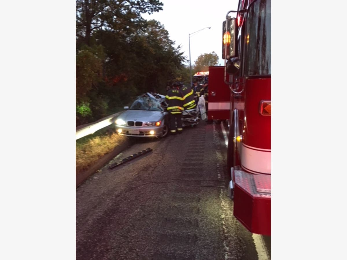 Driver Extricated After 3-Vehicle Crash On I-95: FD | Norwalk, CT Patch