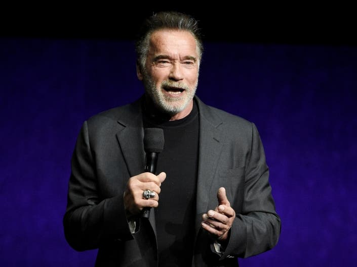 Schwarzenegger Didnt Realize He Was Dropkicked Till He Saw Video