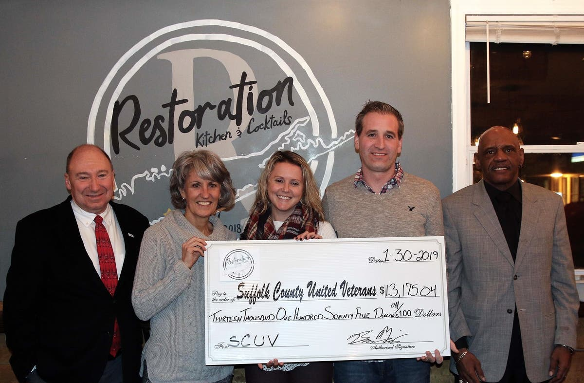 Li Nonprofit Restaurant Makes First Donation To 2 Charities