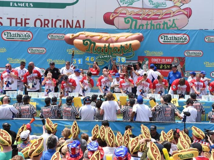 Nathans Hot Dog Eating Contest Qualifier Coming To LI Next Month