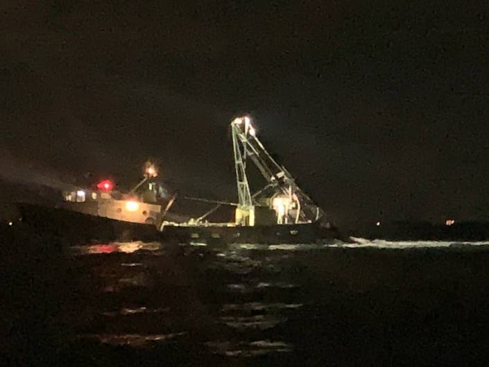 Captain Of Clam Dredge Rescued After Medical Incident: SCPD