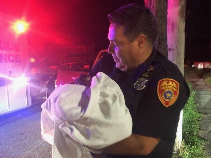 ICYMI: Police Officer Helps Deliver Baby Girl In Patchogue