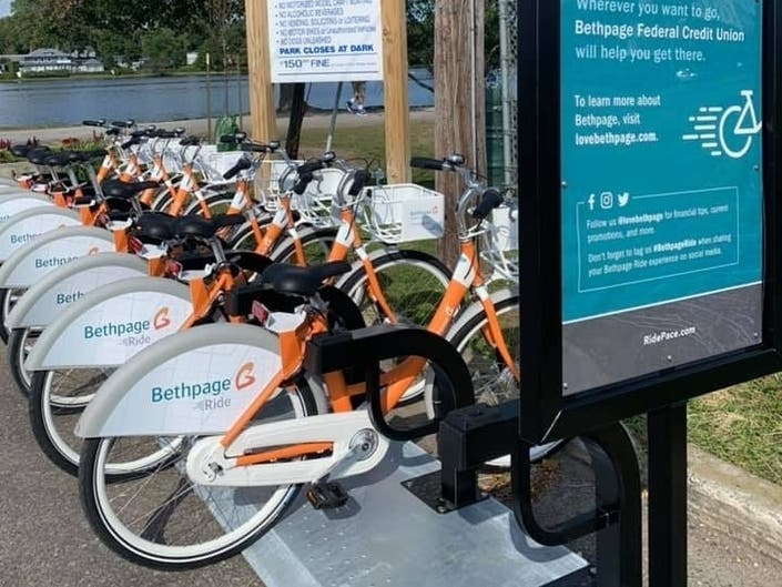Officials Launch Bike-Sharing At 3 Suffolk Communities