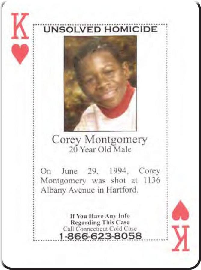 Connecticut 'Cold Case' Homicides Featured in Card Deck
