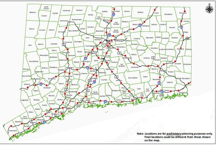 Map Of New York Toll Roads