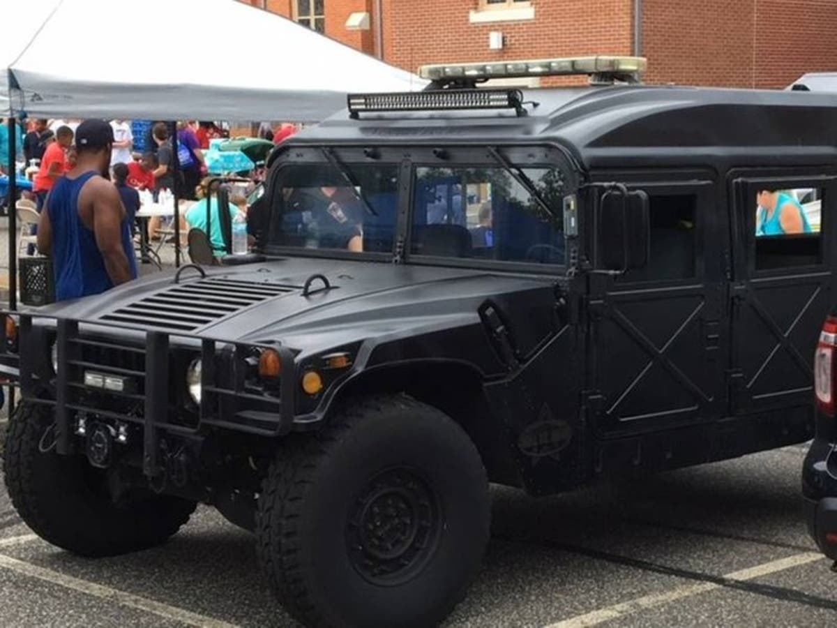See The Military Gear Your Local Police Department Received