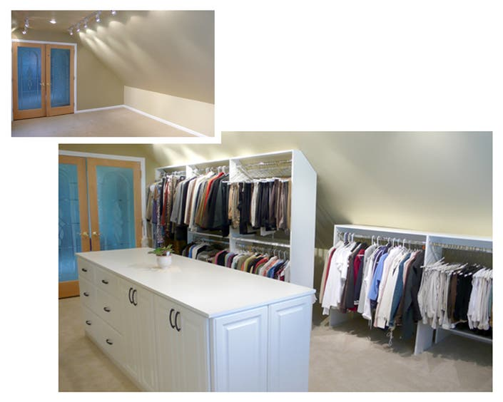 Turn Your Attic Into A Wow Walk In Closet Heres How