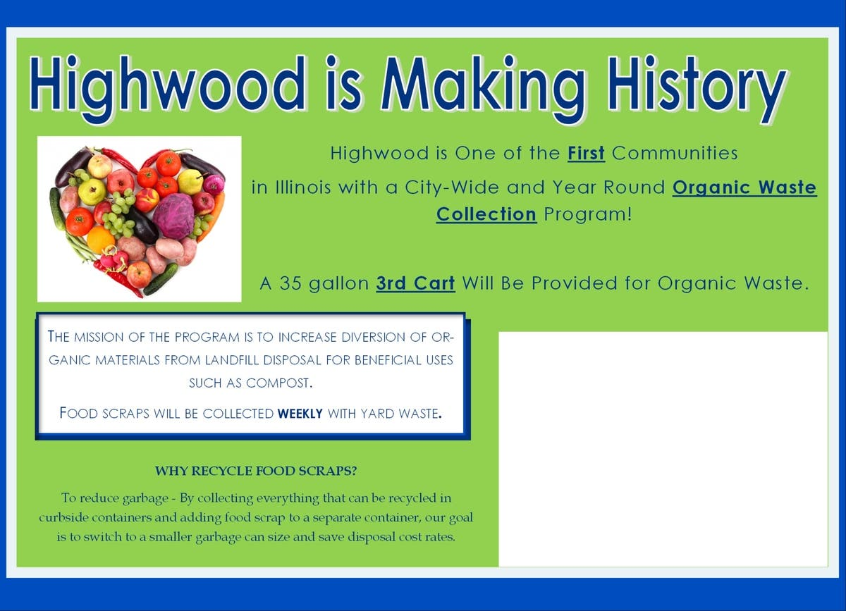 City of Highwood First in State to Approve Year-Round