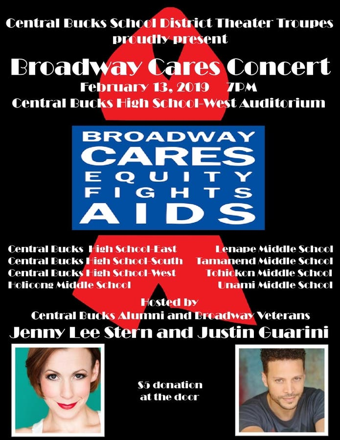 Cbsd February 2019 Calendar CBSD Theater Troupes Come Together to Support Broadway Cares