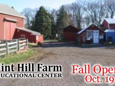 Fall Open House at Flint Hill Farm Educational Center