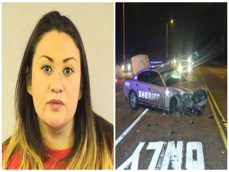 DUI Charge Filed Against Woman Who Crashed Into Lake County