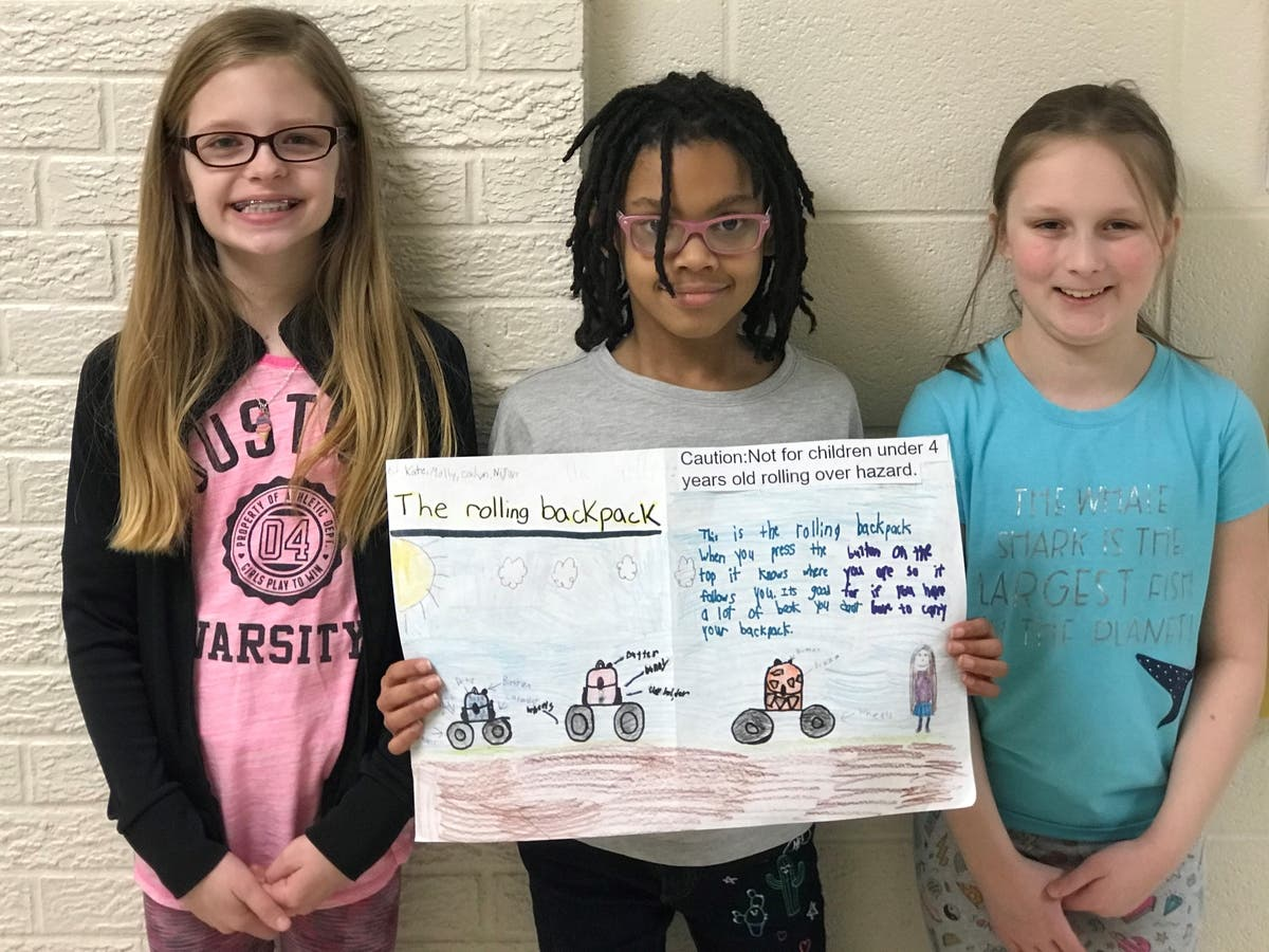 3rd Graders Make Inventions After Learning About Thomas