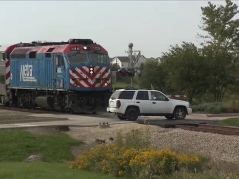 Mock Train Crash Promotes Rail Crossing Safety | Manhattan