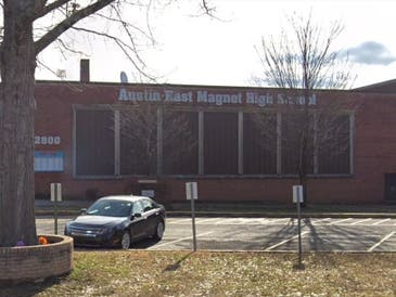 One person was killed in a school shooting at Austin-East Magnet School in Knoxville Monday afternoon.