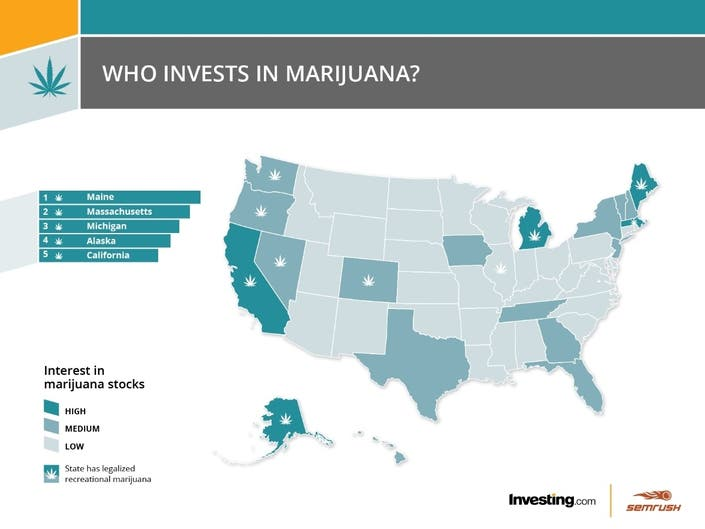 Is Maine really the no 1 state for marijuana investments