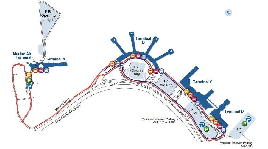 Laguardia Airport May See Parking Congestion During Multi Billion Modernization Port Authority Hoboken Nj Patch
