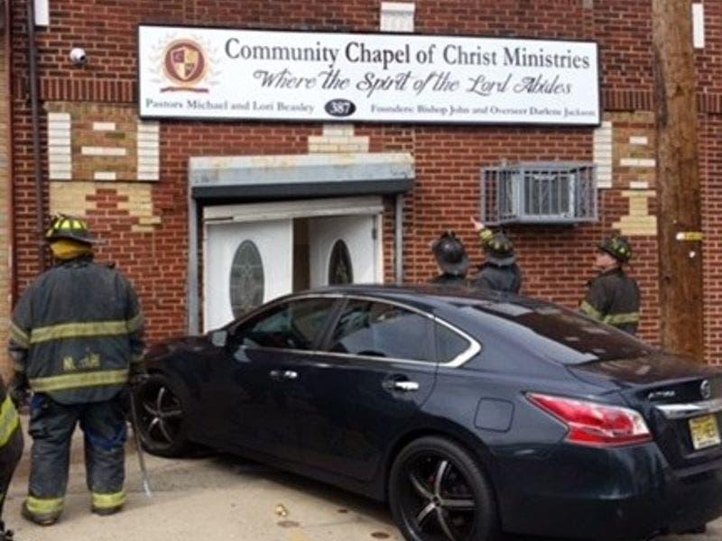 Stolen Car Crashes Into Newark Church On Sunday: Cops | Newark, NJ Patch
