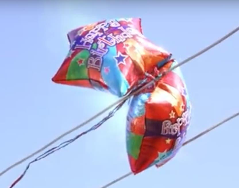 Graduation Season Safety: Mylar Balloons vs  Power Lines