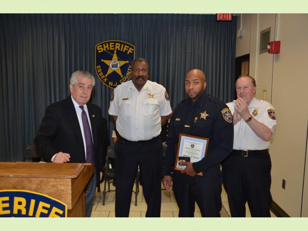Newark Cops Brave Lifesaving Acts