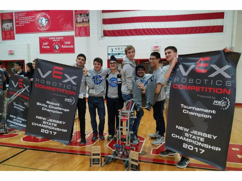 Millburn Students Prize Robot Stolen During Competition Report