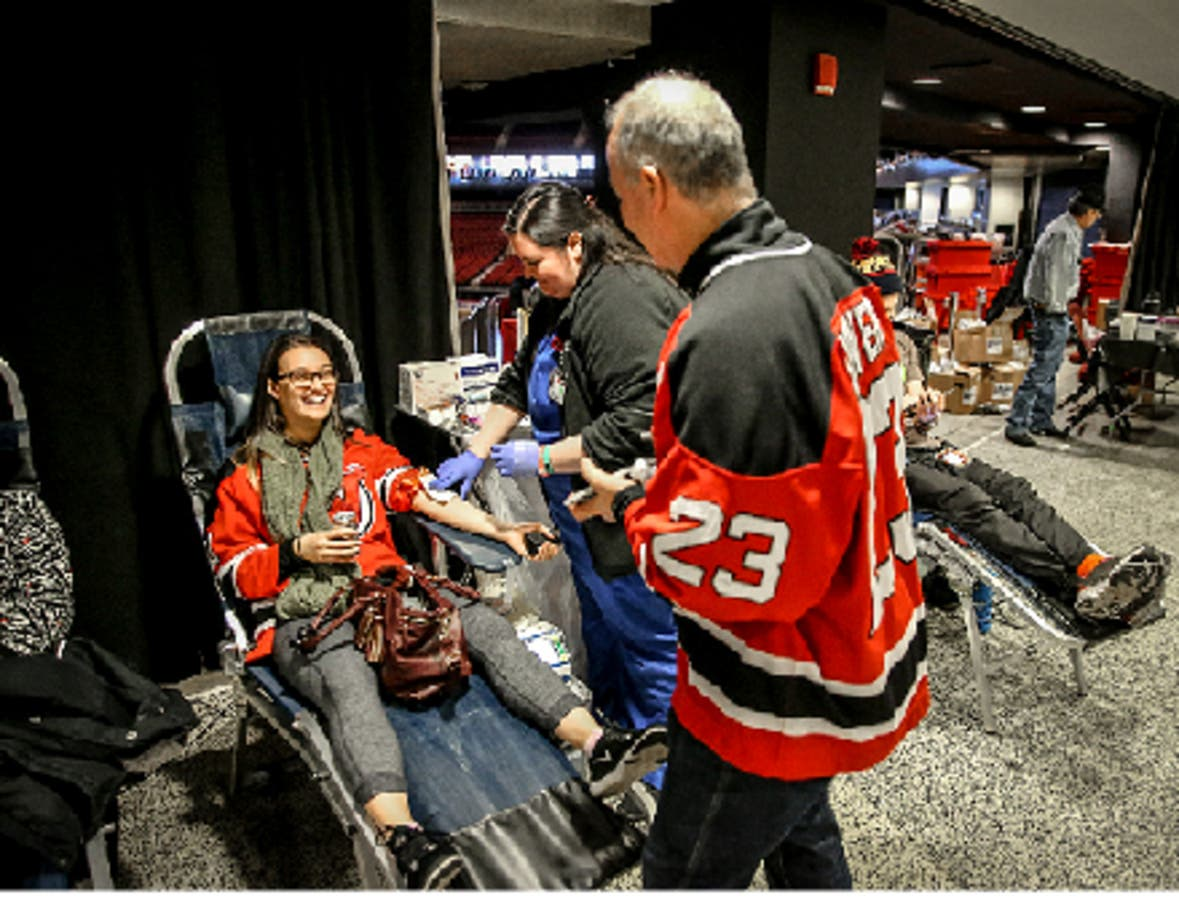 various colors cf571 efa42 NJ Devils Want Your Blood, Offer Free Tickets For Donations ...