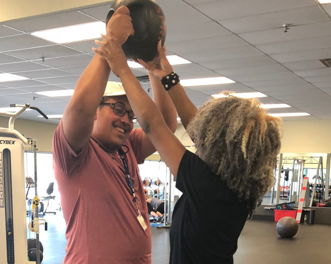 Caldwell trainer serves special needs clients at verona gym