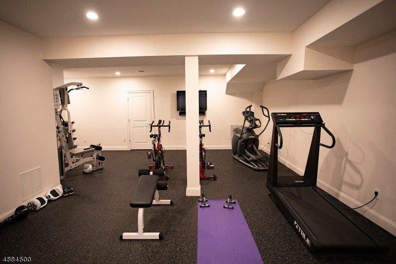 $1.9m caldwells wow house has theater gym wine cellar photos