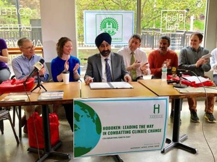 Hoboken Makes Big Pledge To Battle Climate Change On Earth Day