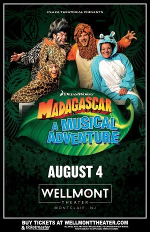 Madagascar Live' Show In Montclair Canceled: UPDATE | Montclair, NJ