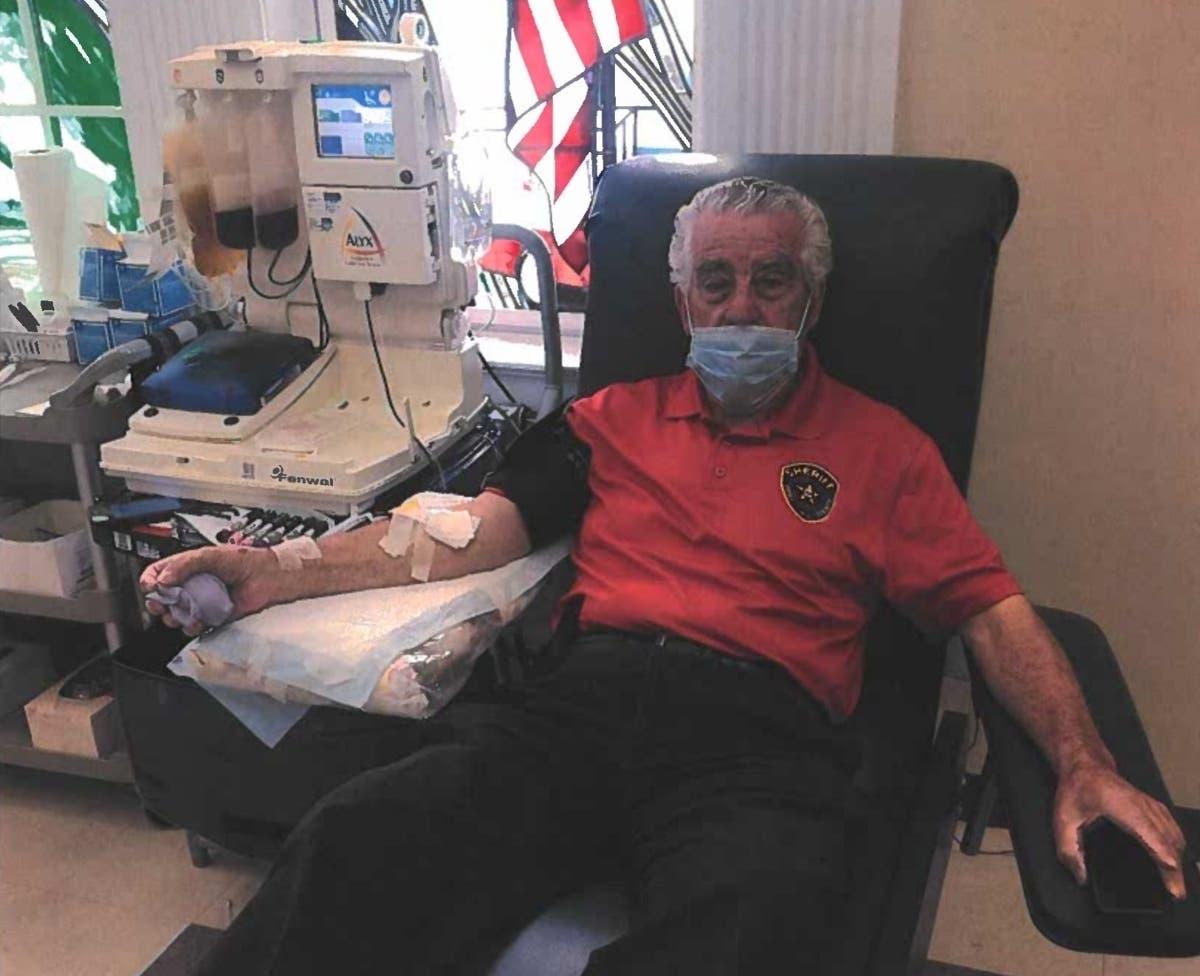 Essex County Sheriff Donates Plasma After Beating Coronavirus