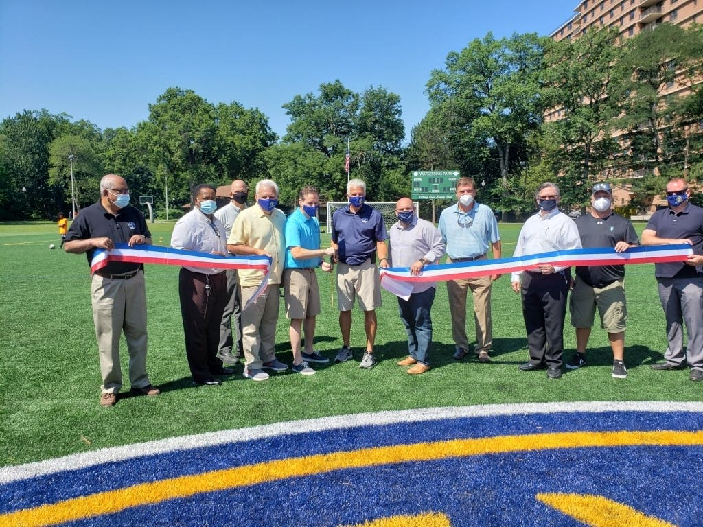 New Turf At Watsessing Park Lawn Bowling Lacrosse Soccer Bloomfield Nj Patch
