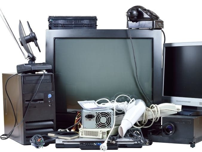 E-Waste Recycling Event In Newark: Dispose Of Old TVs, Computers