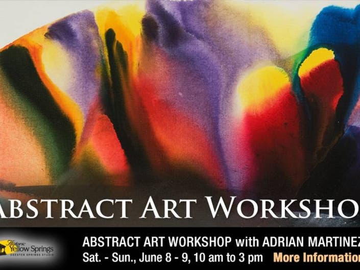 Abstract Art Workshop with Adrian Martinez