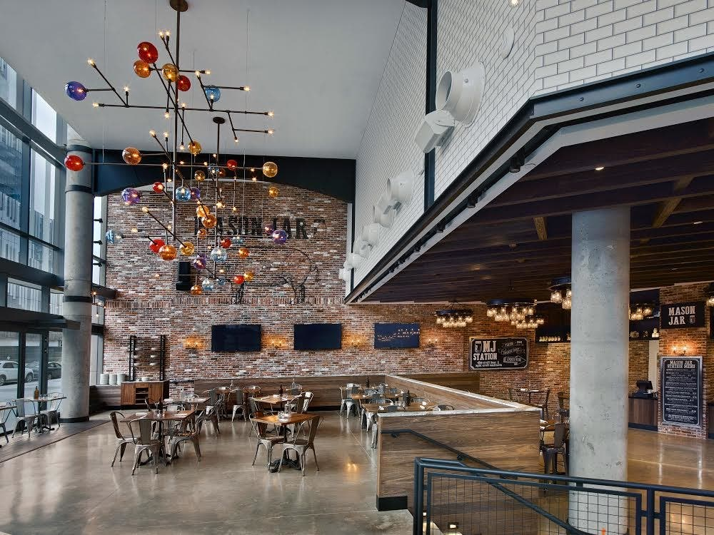 Rockaway Boardwalk Finds New Life In Mason Jar BK Tabletop | Fort