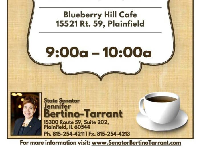 Bertino-Tarrant invites residents to share concerns at event