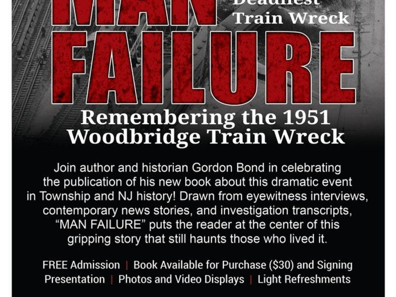 Book Release Party for Man Failure: The Story of New Jersey's