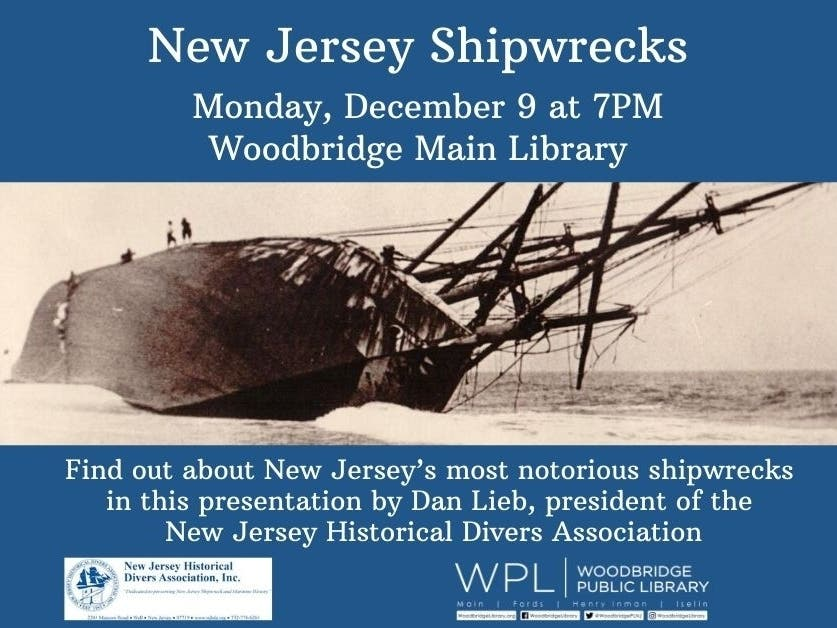 New Jersey Shipwrecks - Patch.com
